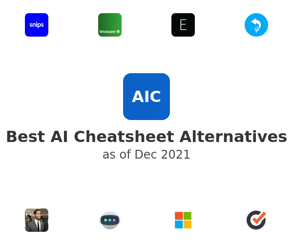 Best AI Cheatsheet Alternatives