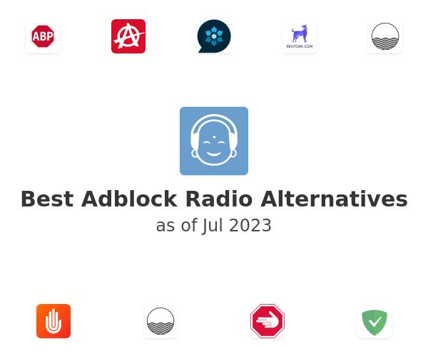 Best Adblock Radio Alternatives