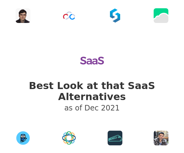 Best Look at that SaaS Alternatives