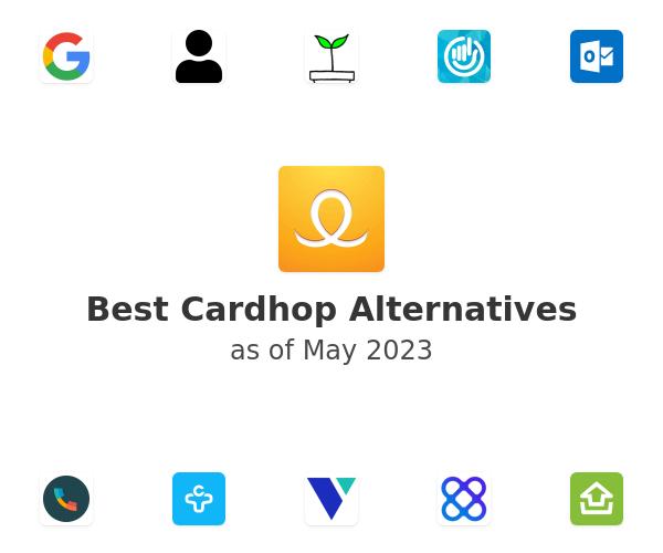 Best Cardhop Alternatives