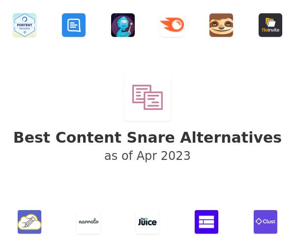 Best Content Snare Alternatives