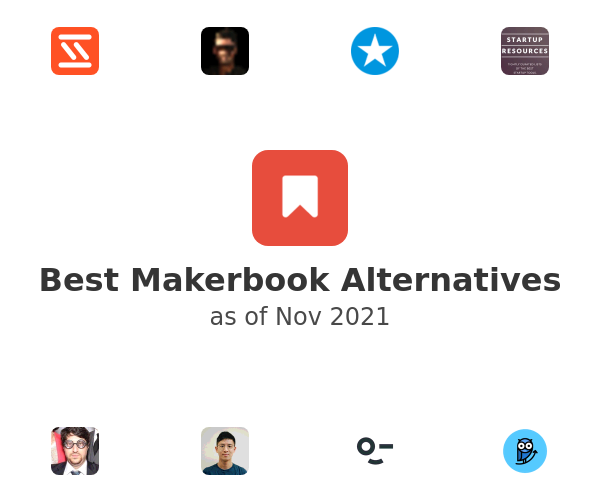 Best Makerbook Alternatives