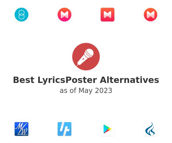Best LyricsPoster Alternatives