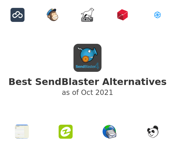 Best SendBlaster Alternatives