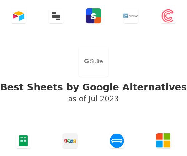 Best Sheets by Google Alternatives