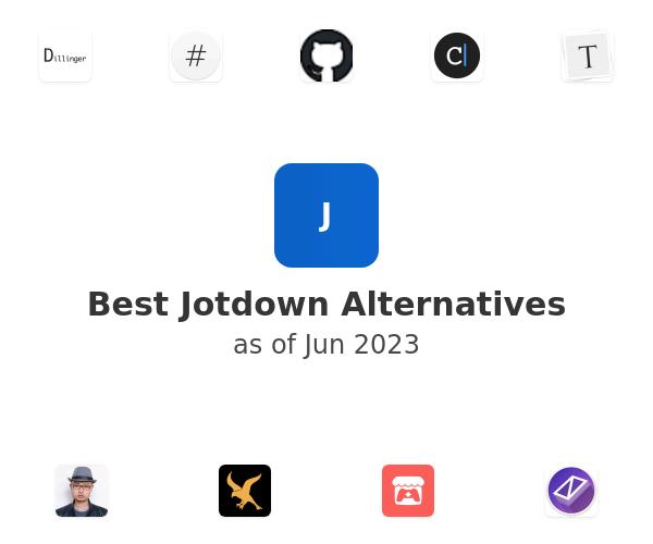 Best Jotdown Alternatives