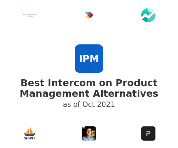 Best Intercom on Product Management Alternatives