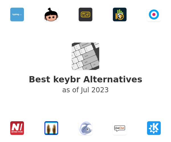 Best keybr Alternatives