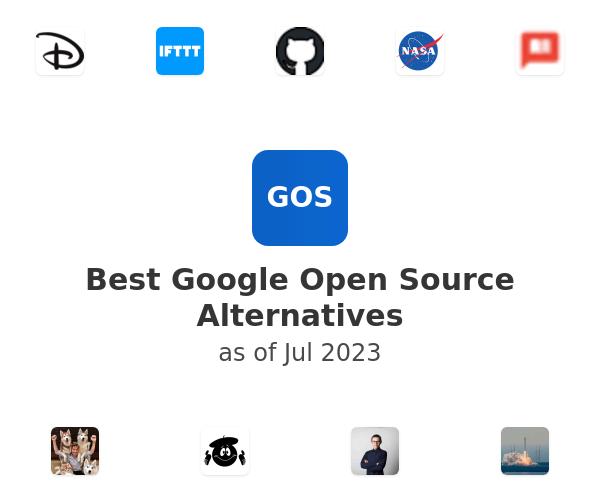 Best Google Open Source Alternatives