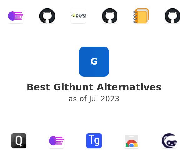 Best Githunt Alternatives