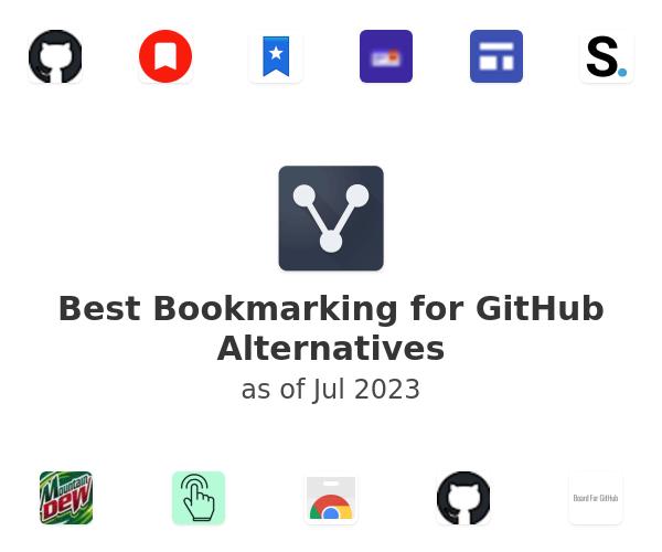 Best Bookmarking for GitHub Alternatives