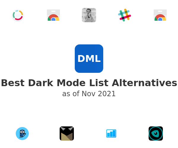 Best Dark Mode List Alternatives