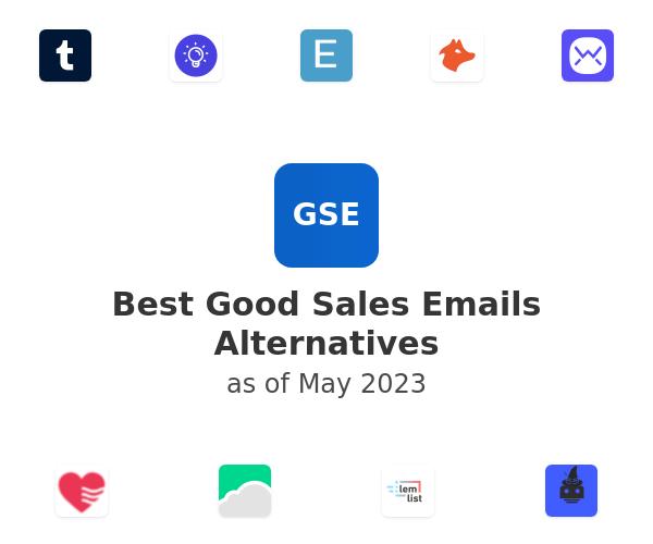 Best Good Sales Emails Alternatives