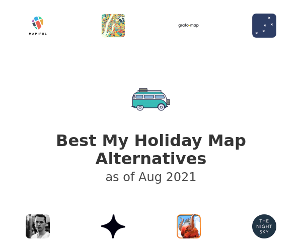 Best My Holiday Map Alternatives