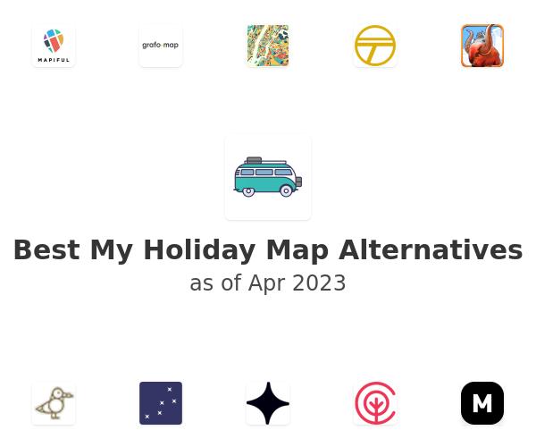 Best My Holiday Map Alternatives