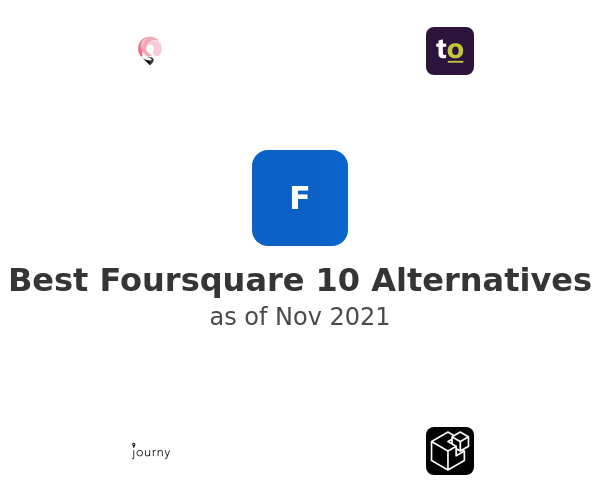 Best Foursquare 10 Alternatives