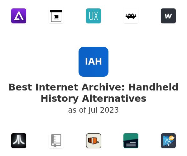 Best Internet Archive: Handheld History Alternatives