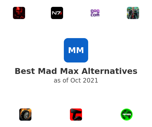 Best Mad Max Alternatives