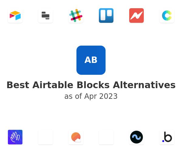 Best Airtable Blocks Alternatives