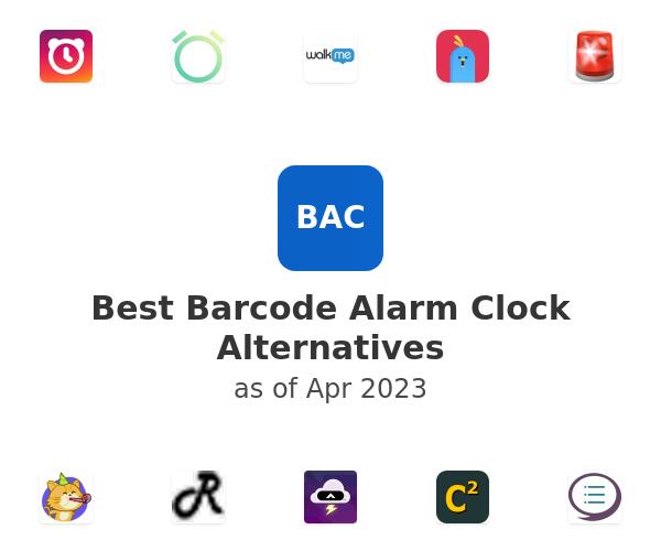 Best Barcode Alarm Clock Alternatives