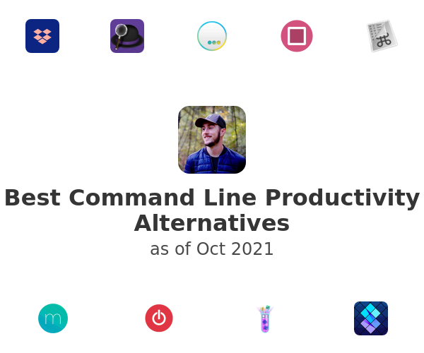 Best Command Line Productivity Alternatives