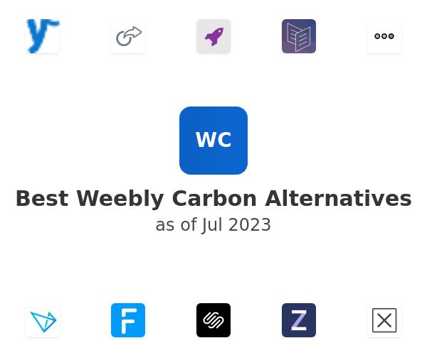 Best Weebly Carbon Alternatives
