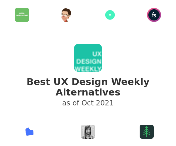 Best UX Design Weekly Alternatives