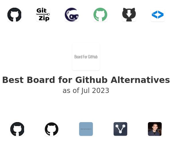 Best Board for Github Alternatives