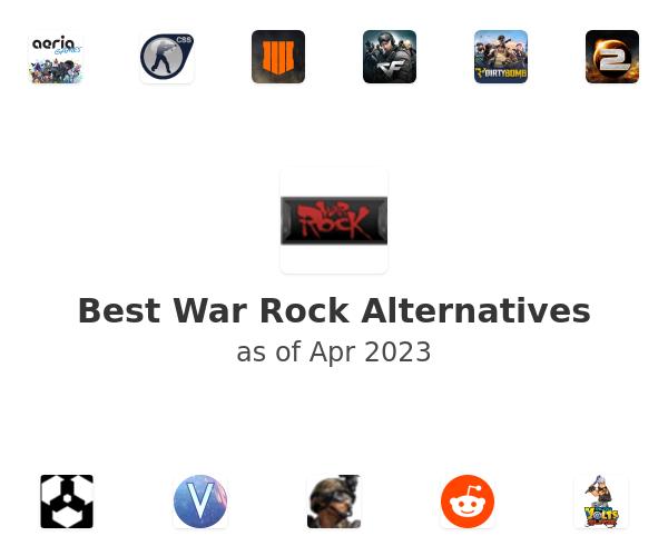 Best War Rock Alternatives