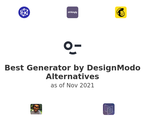 Best Generator by DesignModo Alternatives