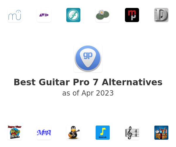 Best Guitar Pro 7 Alternatives
