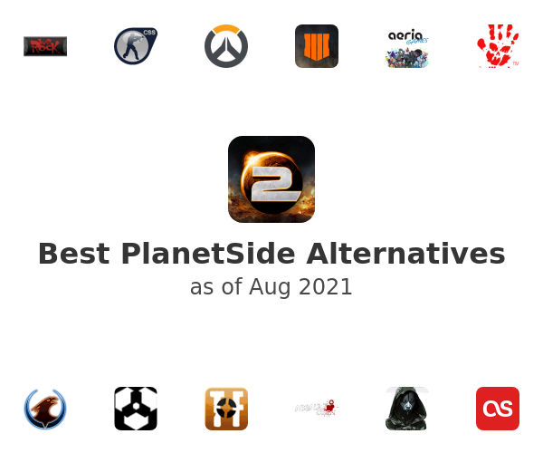 Best PlanetSide Alternatives