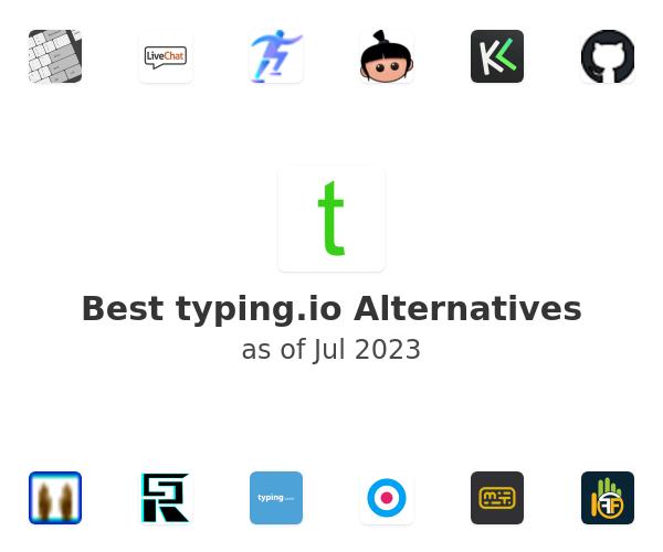 Best typing.io Alternatives