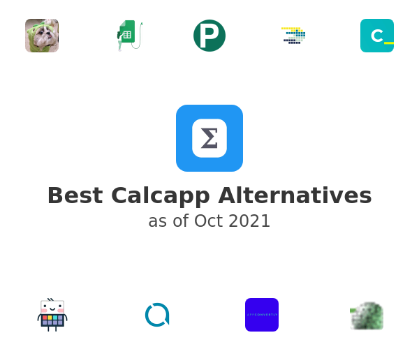 Best Calcapp Alternatives
