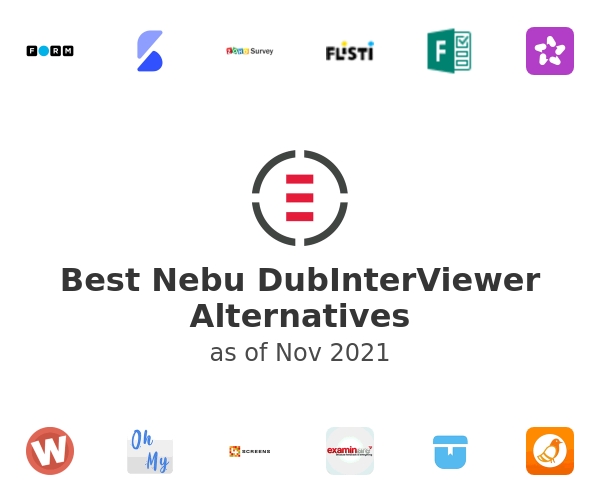 Best Nebu DubInterViewer Alternatives
