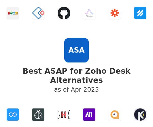 Best ASAP for Zoho Desk Alternatives