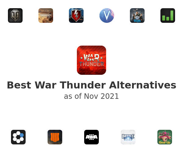Best War Thunder Alternatives