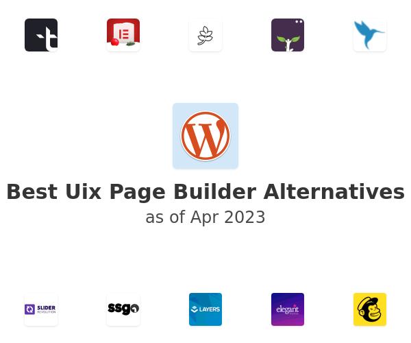 Best Uix Page Builder Alternatives