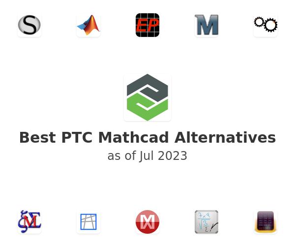 Best PTC Mathcad Alternatives