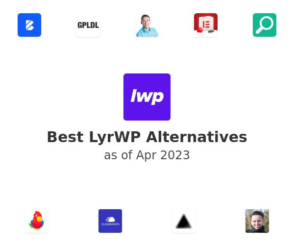 Best LyrWP Alternatives