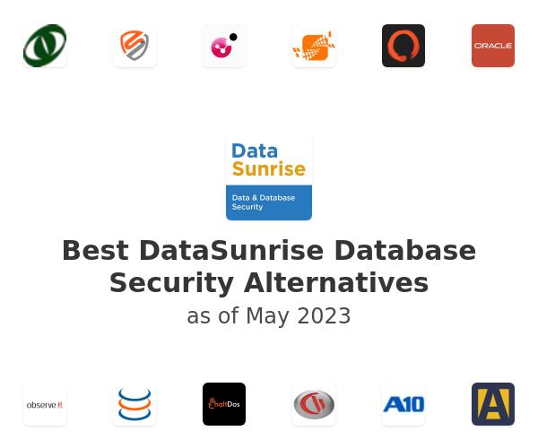 Best DataSunrise Database Security Alternatives
