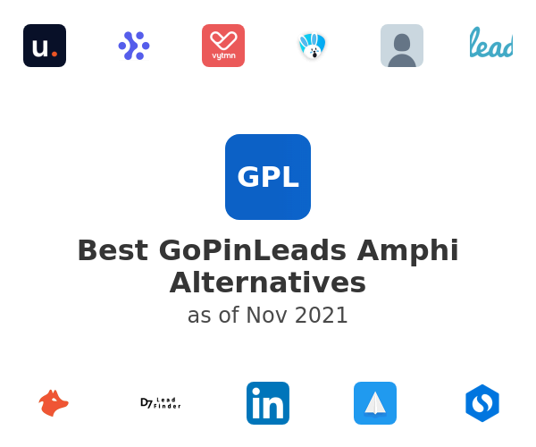 Best GoPinLeads Amphi Alternatives