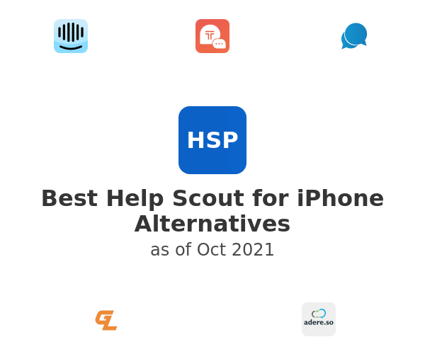 Best Help Scout for iPhone Alternatives