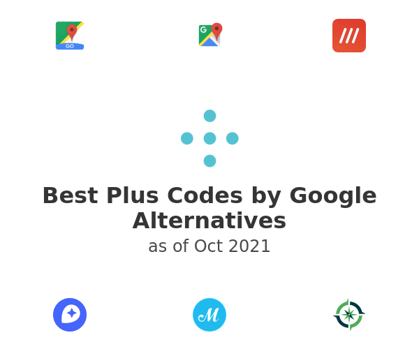 Best Plus Codes by Google Alternatives