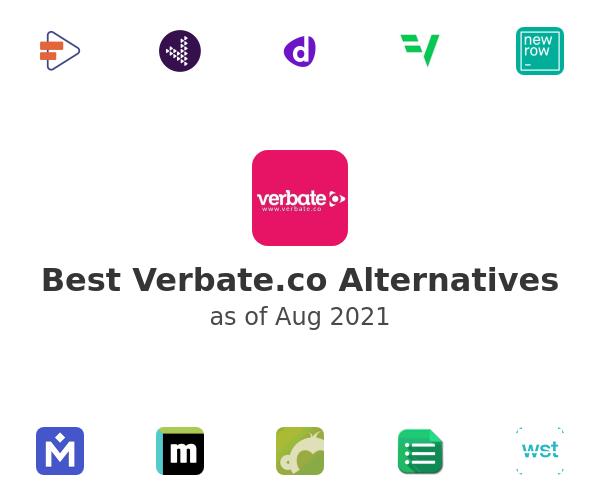 Best Verbate.co Alternatives