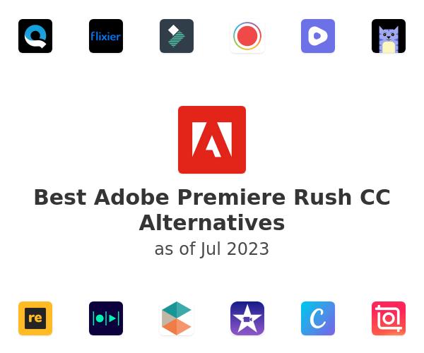 Best Adobe Premiere Rush CC Alternatives