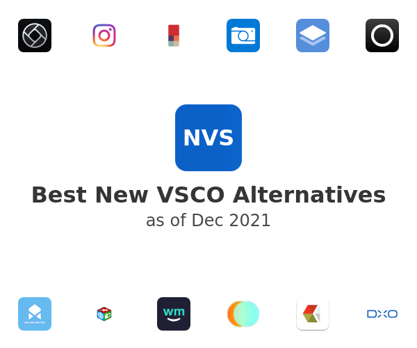 Best New VSCO Alternatives
