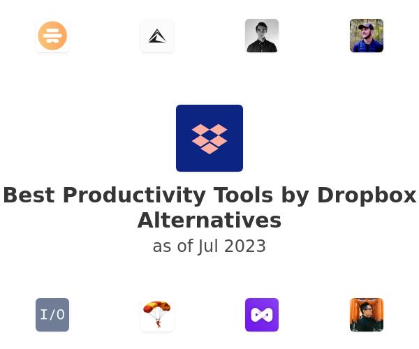 Best Productivity Tools by Dropbox Alternatives