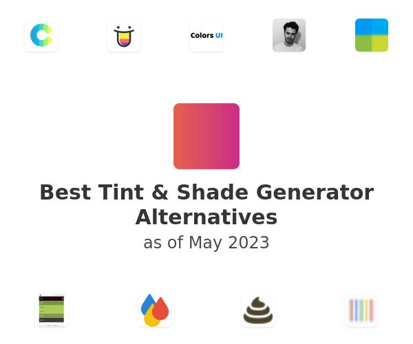 Best Tint & Shade Generator Alternatives