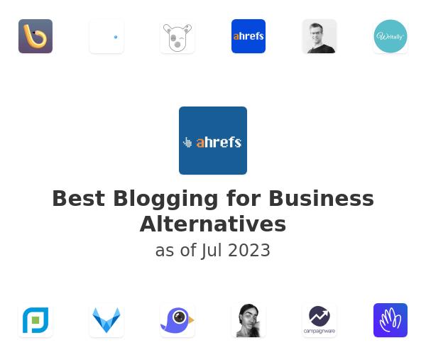 Best Blogging for Business Alternatives